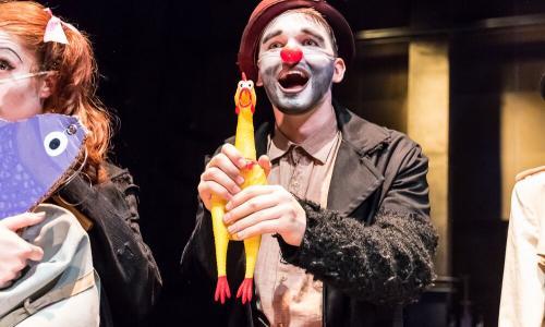 """Dicky in """"Clown Aliens"""""""