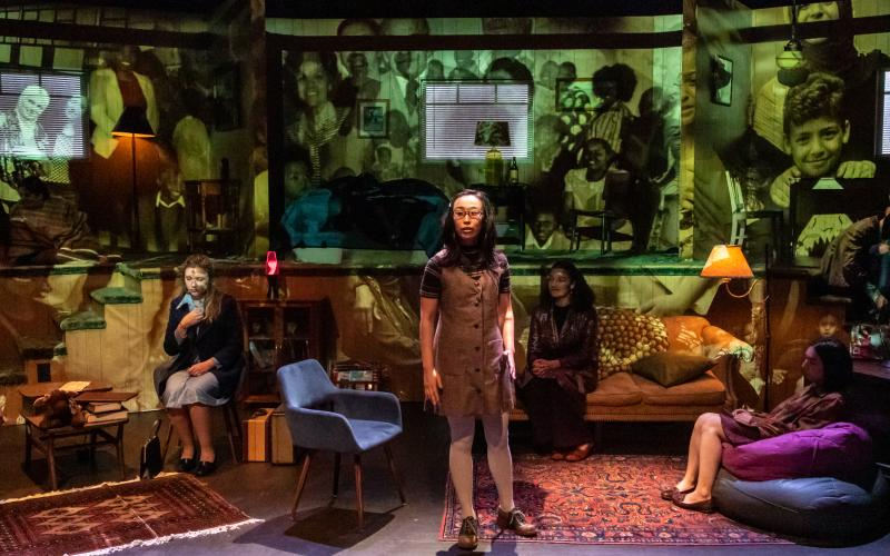 The Refugee Hotel, by Carmen Aguirre. Directed by Juliette Carrillo. (photo by