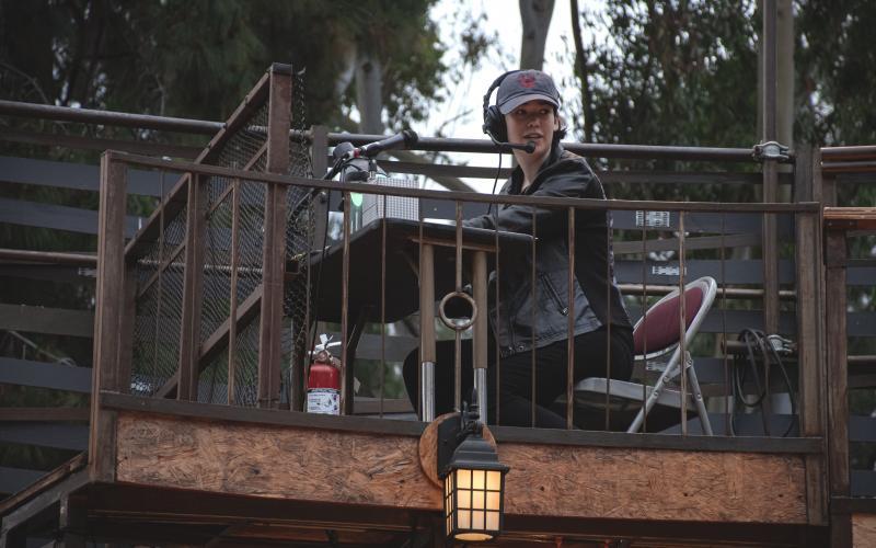 "Arielle Singer (2019) in tech for ""The Two Gentlemen of Verona"""